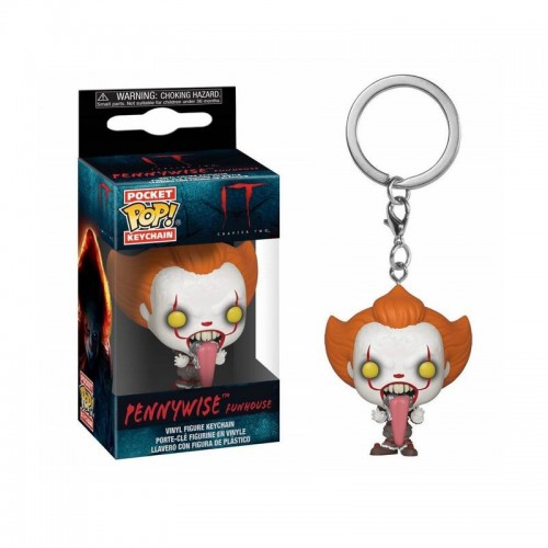 Брелок Funko Pop Keychain IT 2 - Pennywise Funhouse