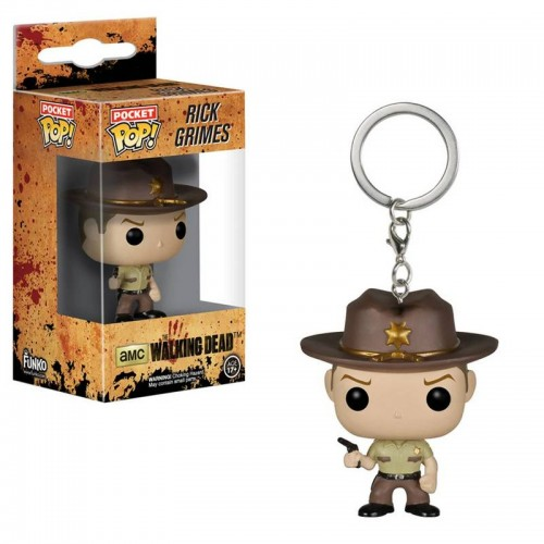 Брелок Funko Pop Keychain Walking Dead - Rick Grimes