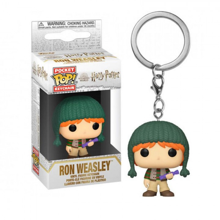 Брелок Funko Pop Keychain Harry Potter Holiday - Ron Weasley, 51205