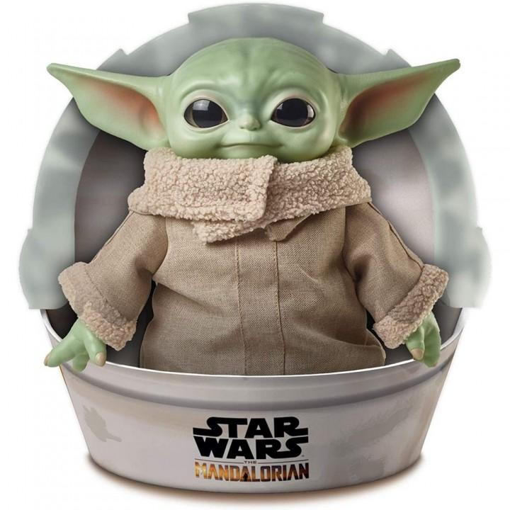 Игрушка Mattel Star Wars: Mandalorian - The Child (Yoda) / Звёздные войны: Мандалорец - Бэйби (Йода), GWD85