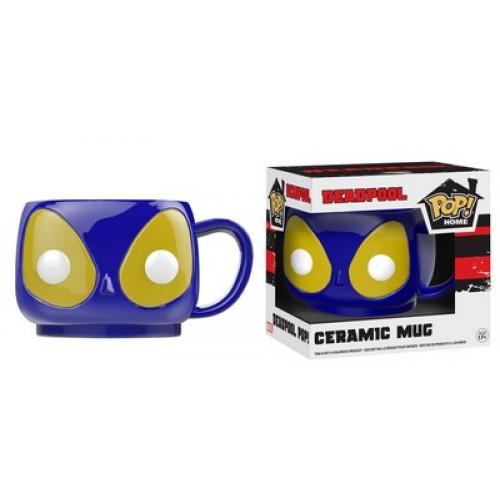 Funko Pop! Home: Blue Deadpool Pop! Ceramic Mug / Керамическая чашка Фанко Поп: Дэдпул