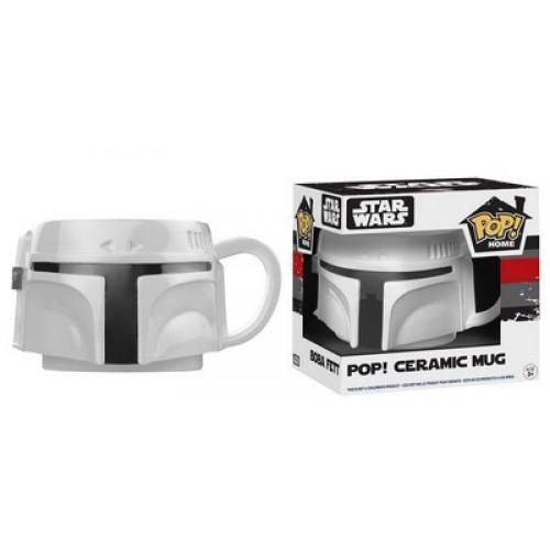 Funko Pop! Home: Boba Fett Proto Pop! Ceramic Mug  / Керамическая чашка Фанко Поп: Звёздные войны - Боба Фетт