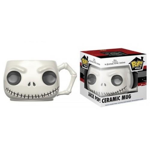 Funko Pop! Home: Nightmare Before Christmas - Jack Pop! Ceramic Mug / Керамическая чашка Фанко Поп: Кошмар перед Рождеством - Джек Скеллингтон
