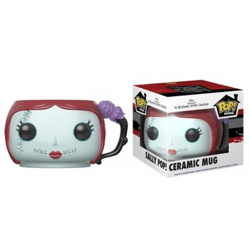 Funko Pop! Home: Nightmare Before Christmas - Sally Pop! Ceramic Mug / Керамическая чашка Фанко Поп: Кошмар перед Рождеством - Салли