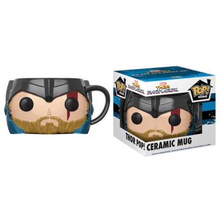 Funko Pop! Home: Thor: Ragnarok - Thor Pop! Ceramic Mug / Керамическая чашка Фанко Поп: Тор: Рагнарёк - Тор