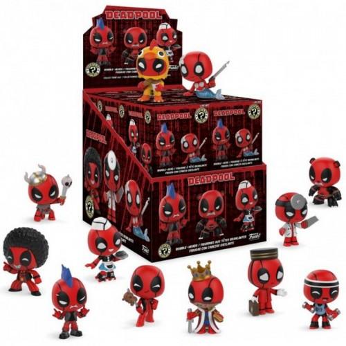 Набор фигурок Funko Mystery Minis Deadpool / Фанко Дэдпул