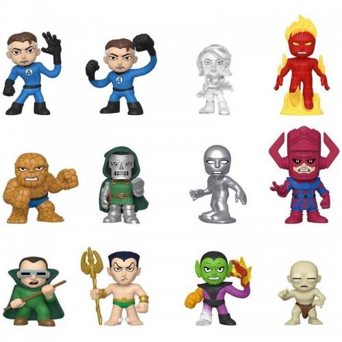Набор фигурок Funko Mystery Minis  Fantastic Four / Фанко Фантастическая четвёрка