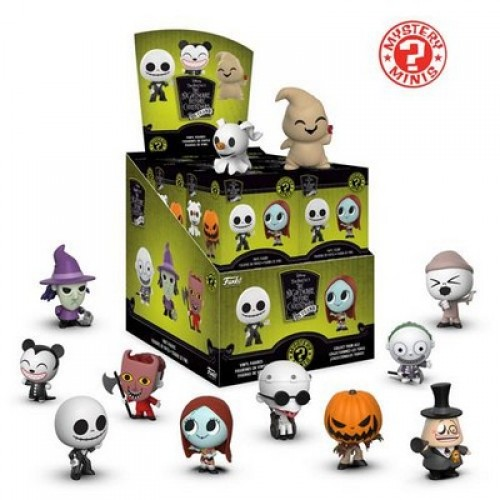 Funko Mystery Minis: Disney - Nightmare Before Christmas 25th Anniversay / Фанко: Кошмар перед Рождеством