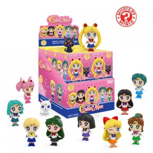 Funko Mystery Minis: Animation - Sailor Moon / Фанко: Сейлор Мун
