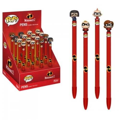 Funko Pop! Pen: Incredibles 2 / Набор ручек Фанко Поп: Суперсемейка 2