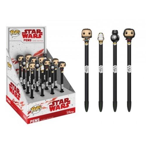 Funko Pop! Pen: Star Wars: Last Jedi / Набор ручек Фанко Поп: Звёздные войны: Последние джедаи