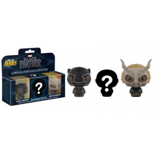 Funko Pint Size Heroes: Marvel - Black Panther 3-Pack / Фанко: Чёрная Пантера