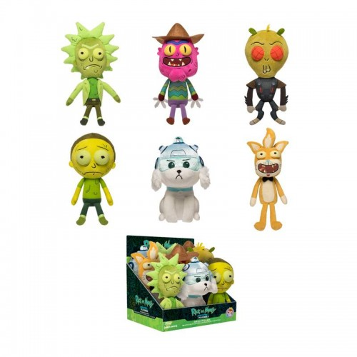 Плюшевая игрушка Funko Plush Galactic Rick and Morty