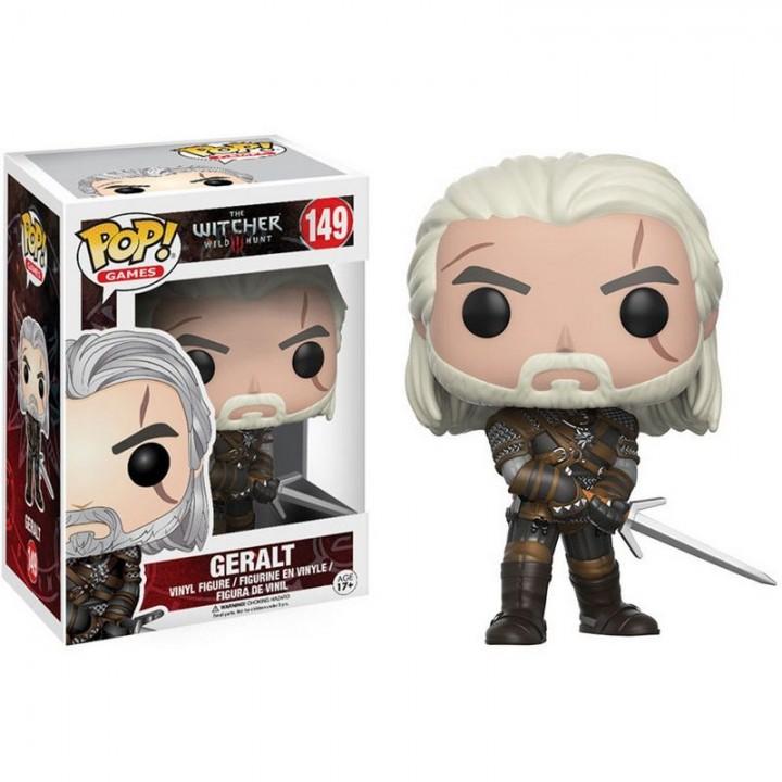 Funko Pop! Witcher - Geralt / Фанко Поп: Ведьмак - Геральт из Ривии, 12134