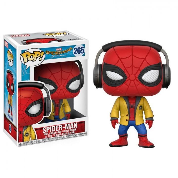 Funko Pop! Spider-man Homecoming - Spider-man (w/Headphones) / Фанко Поп: Человек-паук: Возвращение домой