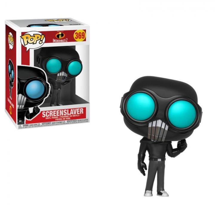 Фигурка Funko Pop Incredibles 2 - Screenslaver / Фанко Поп Суперсемейка - Экранотиран, 29207