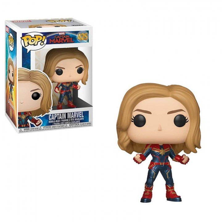 Funko Pop! Captain Marvel - Captain Marvel / Фанко Поп: Капитан Марвел