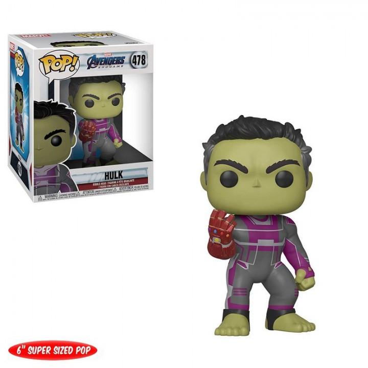 "Фигурка Funko Pop Avengers Endgame - Hulk 6"" / Фанко Поп Мстители Финал - Халк, 39743"