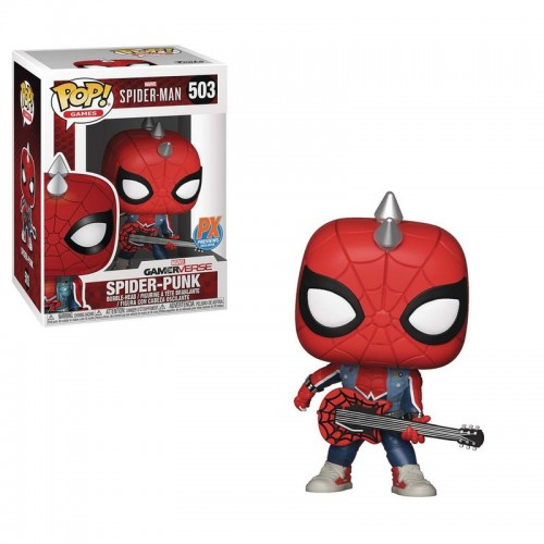 Funko Pop Spider-Man - Spider-Punk Exclusive / Фанко Поп: Человек-паук