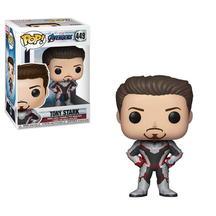 Фигурка Funko Pop Avengers Endgame - Tony Stark / Фанко Поп Мстители Финал - Тони Старк, 36660