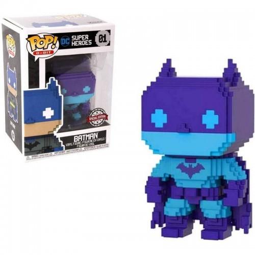 Фигурка Funko Pop 8-Bit DC - Batman #01 / Фанко Поп Бэтмен