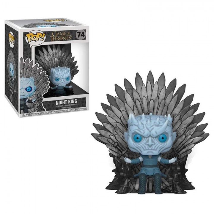 Funko Pop! Deluxe: Game of Thrones - Night King sitting on Iron Throne / Фанко Поп: Игра престолов - Король Ночи