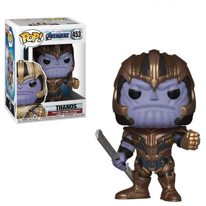 Funko Pop! Avengers: Endgame - Thanos / Фанко Поп: Мстители: Финал - Танос