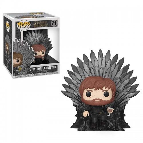 Funko Pop! Deluxe: Game of Thrones - Tyrion sitting on Iron Throne / Фанко Поп: Игра престолов - Тирион Ланнистер