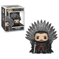 Funko Pop! Deluxe: Game of Thrones - Jon Snow sitting on Iron Throne / Фанко Поп: Игра престолов - Джон Сноу