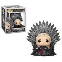 Funko Pop! Deluxe: Game of Thrones - Daenerys sitting on Iron Throne / Фанко Поп: Игра престолов - Дейенерис Таргариен