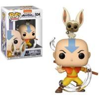 Фигурка Funko Pop Avatar The Last Airbender - Aang with Momo / Фанко Поп Аватар Легенда об Аанге и Момо