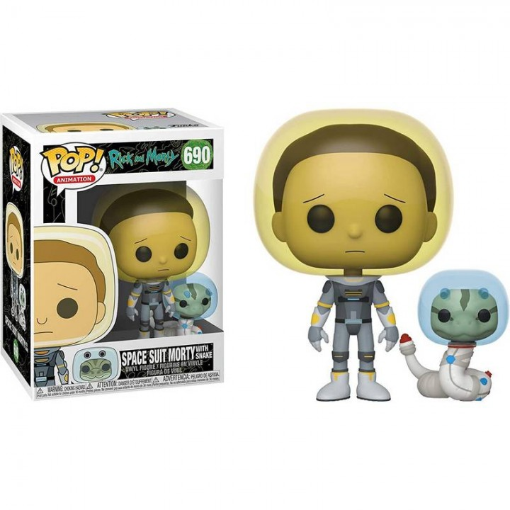 Фигурка Funko Pop Rick and Morty (Space Suit with Snake) / Фанко Поп Рик и Морти, 45435