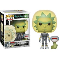 Фигурка Funko Pop Rick and Morty (Space Suit with Snake) #689 / Фанко Поп Рик и Морти