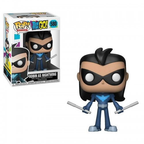Фигурка Funko Pop Teen Titans Go - Robin as Nightwing / Фанко Поп Юные титаны вперед - Робин