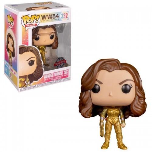Фигурка Funko Pop WW84 - Wonder Woman Golden Armor #332 / Фанко Поп Чудо-женщина 1984