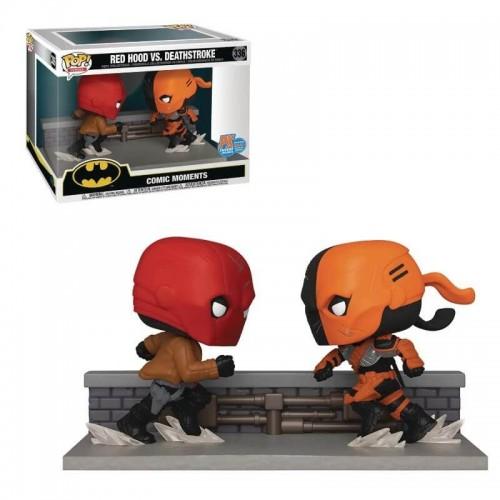 Фигурка Funko Pop Batman - Red Hood vs Deathstroke / Фанко Поп Бэтмен - Красный колпак против Детстроука