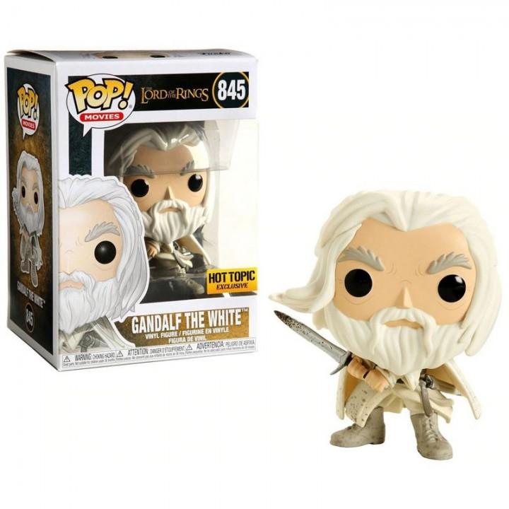 Фигурка Funko Pop Lord of the Rings - Gandalf the White / Фанко Поп Властелин колец - Гэндальф, 845-hot-topic