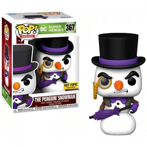 Фигурка Funko Pop DC Holiday - The Penguin Snowman / Фанко Поп Пингвин