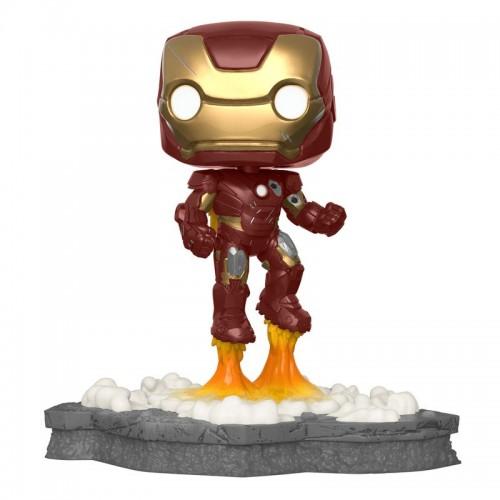 Funko Pop Avengers Assemble - Iron Man Deluxe Exclusive / Фанко Поп: Мстители: Общий сбор - Железный человек