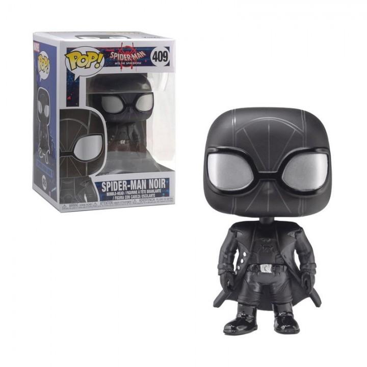 Фигурка Funko Pop Spider-Man Into the Spider-Verse - Noir #409 / Фанко Поп Человек-паук - Нуар, 33978