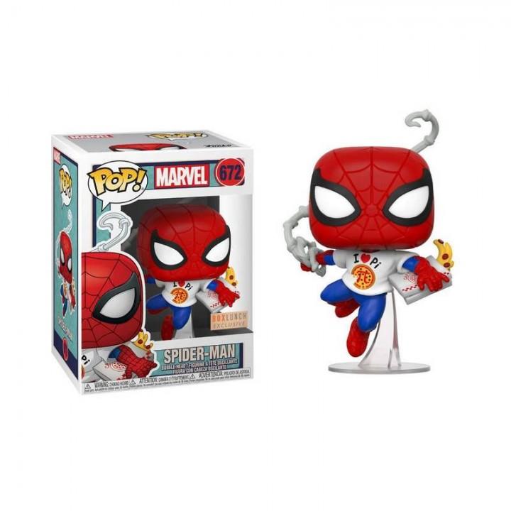 Фигурка Funko Pop Marvel - Spider-Man / Фанко Поп Человек-паук, 672-boxlunch