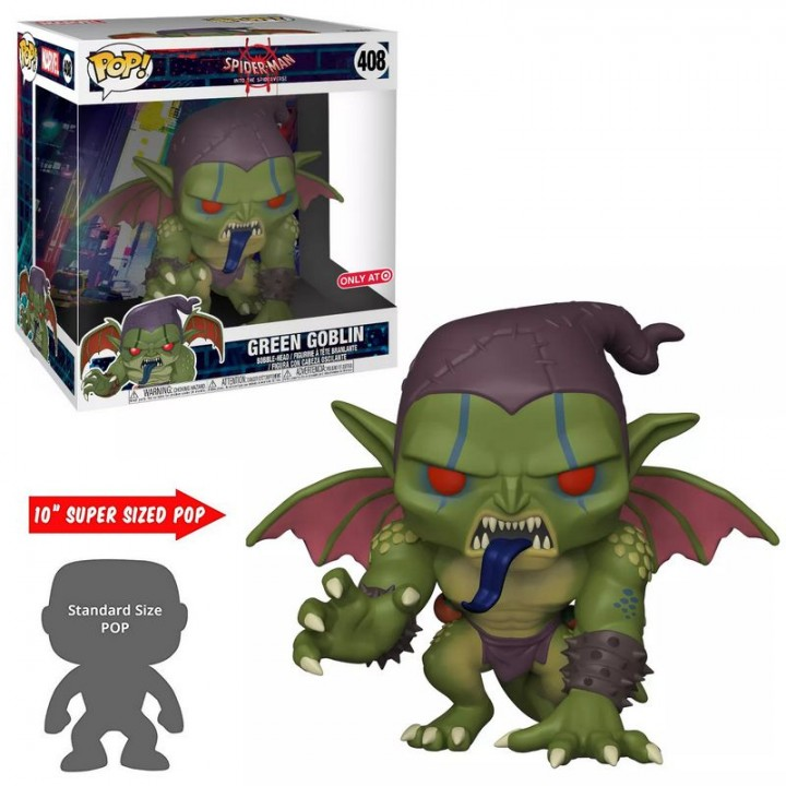 Funko Pop! Spider-Man: Into Spider-Verse - Green Goblin 10