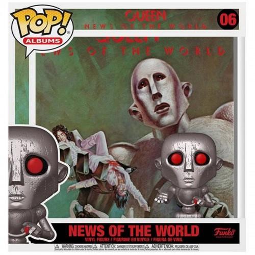 Фигурка Funko Pop Albums Queen - News of the World