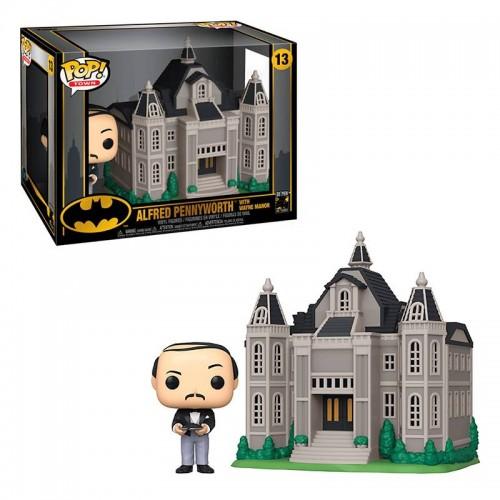 Фигурка Funko Pop Batman 80th - Alfred Pennyworth with Wayne Manor / Фанко Поп Бэтмен