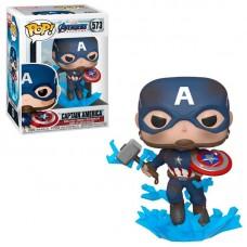 Фигурка Funko Pop Avengers Endgame - Captain America #573 / Фанко Поп Мстители Финал - Капитан Америка
