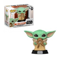 Фигурка Funko Pop Star Wars Mandalorian - The Child with Frog (Yoda) / Фанко Поп Звёздные войны Мандалорец - Бэйби Йода