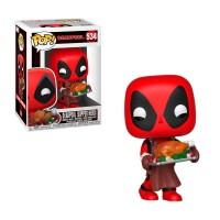 Фигурка Funko Pop Marvel Holiday - Deadpool Supper Hero / Фанко Поп Дэдпул