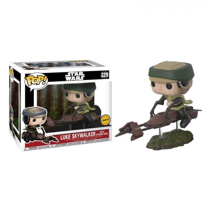 Фигурка Funko Pop Star Wars - Luke Skywalker with Speeder Bike Deluxe / Фанко Поп Звёздные войны - Люк Скайуокер, 23253-chase