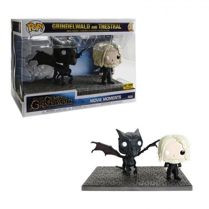 Funko Pop! Fantastic Beasts: Crimes of Grindelwald - Grindelwald and Thestral Exclusive / Фанко Поп: Фантастические твари: Преступления Грин-де-Вальда - Геллерт Грин-де-Вальд