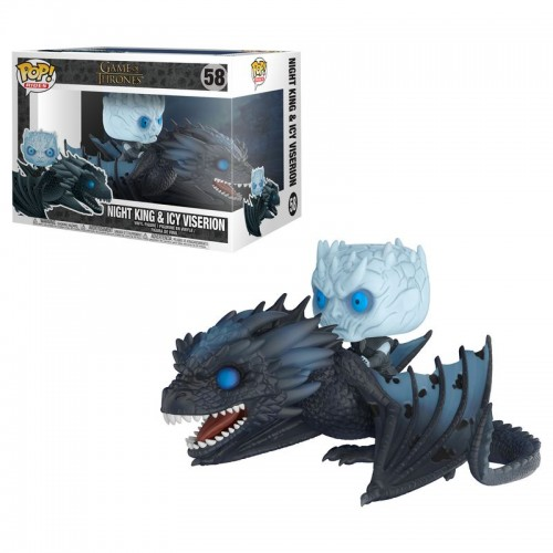 Funko Pop! Rides: Game of Thrones - Night King & Icy Viserion / Фанко Поп: Игра престолов - Король Ночи и Визерион